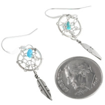 Turquoise Dreamcatcher Earrings 34345