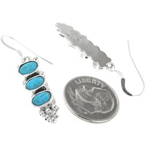 Turquoise French Hook Earrings 34357