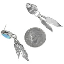 Sterling Silver Opal Earrings 34361