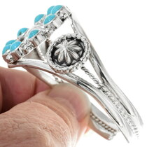 Sterling Silver Turquoise Bracelet 34362