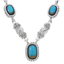 Navajo Turquoise Necklace 34369