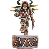 Hopi Buffalo Dancer Kachina Doll 34372