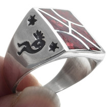 Kokopelli Signet Ring 34379