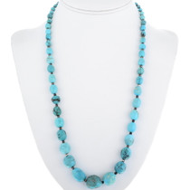 Old Pawn Natural Turquoise Necklace 34385