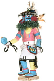 Authentic Willis Kewanwytewa Kachina Doll 34386