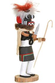 Vintage Hopi Ogre Woman Kachina Doll 34387