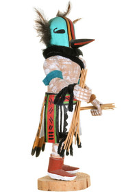 Vintage Hopi Roadrunner Kachina Doll 34388