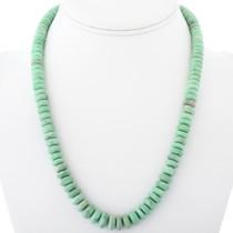 Navajo Green Variscite Bead Necklace 34392