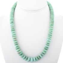 Green Variscite Bead Necklace 34394