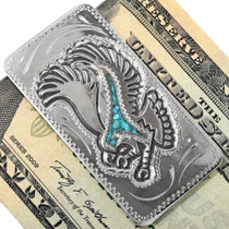 Turquoise Eagle Money Clip 34396