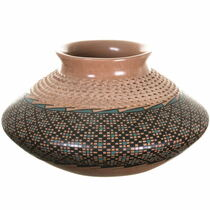 Polychrome Textured Mata Ortiz Pottery 34403