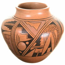 Vintage Hopi Olla Pottery 34406