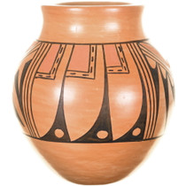 Hopi Rainbird Pattern Traditional Pottery 34407