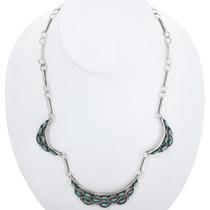 Vintage Zuni Turquoise Necklace 33284