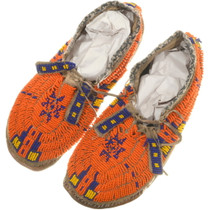 Vintage Plains Indian Moccasins 34419