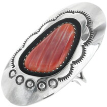 Vintage Spiny Oyster Native American Ring 34442