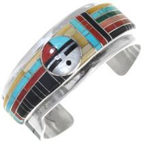 Zuni Inlaid Sunface Bracelet 34444