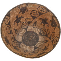 Authentic Antique Papago Tribe Basket 34469
