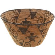 Old Papago Indian Figural Basket 34469