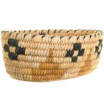 Papago Coyote Tracks Design Basket 34471