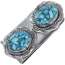 Spiderweb Turquoise Money Clip 12953