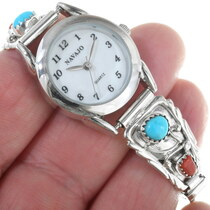Turquoise Coral Ladies Watch 24992