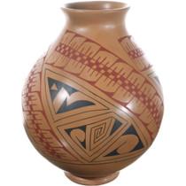 Mata Ortiz Polychrome Olla Pottery 34492