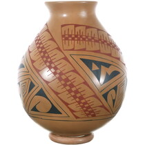 Hand Coiled Mata Ortiz Pottery Rosa Lopez 34492