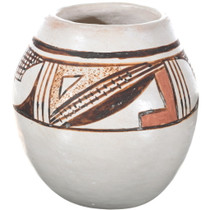 Old Hopi Polychrome Pottery 34494