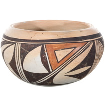 Old Walpi Polychrome Pottery 34495