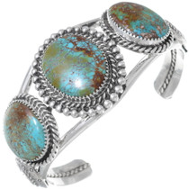 Hachita Turquoise Silver Bracelet 34496