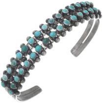 Vintage Zuni Turquoise Bracelet 34509
