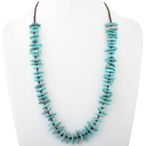 Natural Turquoise Nugget Necklace Heishi Necklace 34513