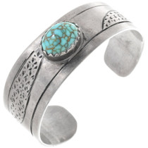 Old Pawn Spiderweb Turquoise Bracelet 34515