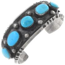 Old Pawn Sleeping Beauty Turquoise Bracelet 34516