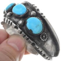 Sleeping Beauty Turquoise Native American Bracelet 34516