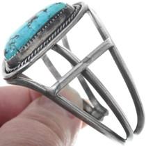 Navajo Made Vintage Turquoise Bracelet 34520