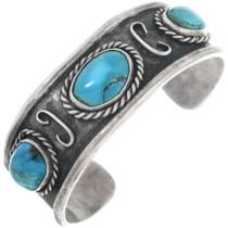 Old Pawn Kingman Turquoise Bracelet 34527