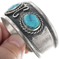 Native American Turquoise Cuff Bracelet 34527