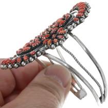 Spiny Oyster Shell Petit Point Native American Bracelet 34535