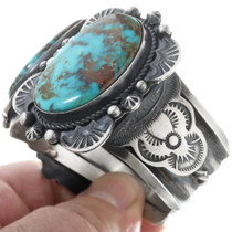 Navajo Gilbert Tom Turquoise Jewelry 34540