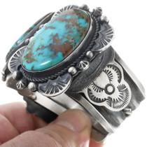 Navajo Gilbert Tom Turquoise Jewelry 34540