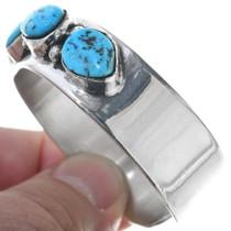 Navajo Turquoise Sterling Silver Bracelet 34553