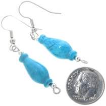 Turquoise French Hook Dangles 34560