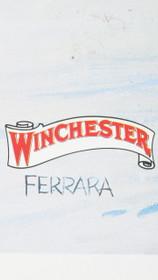 Vintage 1977 Winchester Southwest Joe Ferrara Print 34568