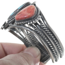 Native American Turquoise Coral Bracelet 34581