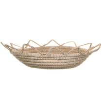 Authentic Native American Decorative Basket 34586
