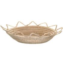 Vintage Northwest Indian Basket Bowl 34586