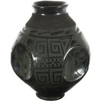 Mata Ortiz Hand Coiled Pottery 34589