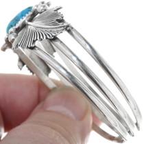Navajo Turquoise Sterling Silver Bracelet 34593